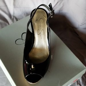 Jessica Simpson Shoes - Jessica Simpson sling back heels
